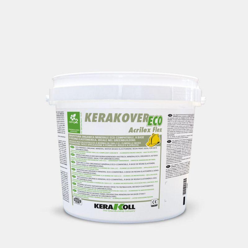 Idropittura per esterni - Kerakover Eco Acrilex Flex 1
