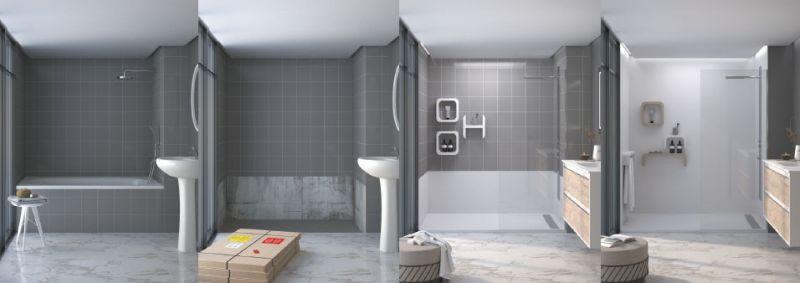 Trasformare vasca in doccia - modello Holiday 6