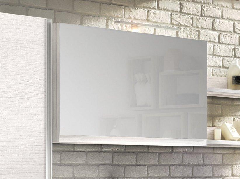 Specchio bagno smart contenitore 89x17 h51 larice 1