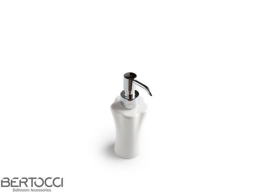 Dispenser appoggio klimt ceramica bianco 1
