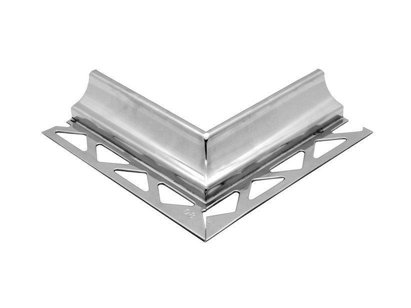 Raccordo global cove angolo esterno acciaio inox 1