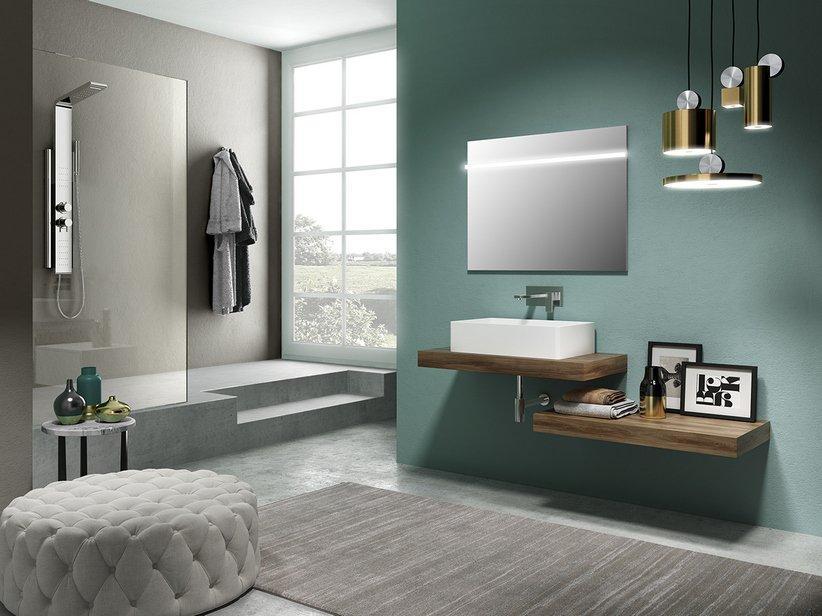 Mensola per lavabo bagno d'appoggio topsy top - 2914835 1