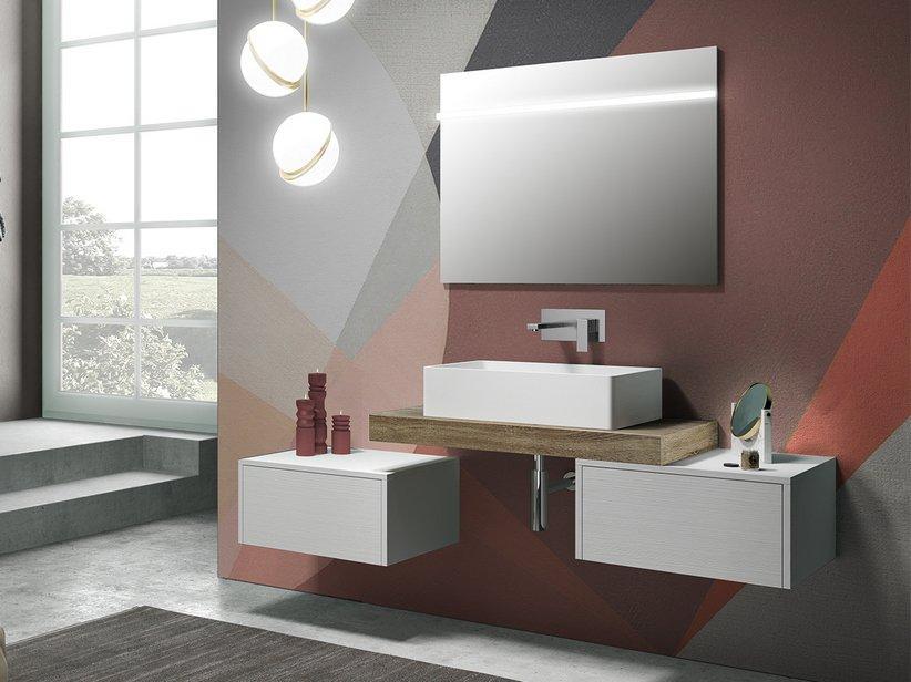 Mensola per lavabo bagno d'appoggio topsy top - 2914840 1
