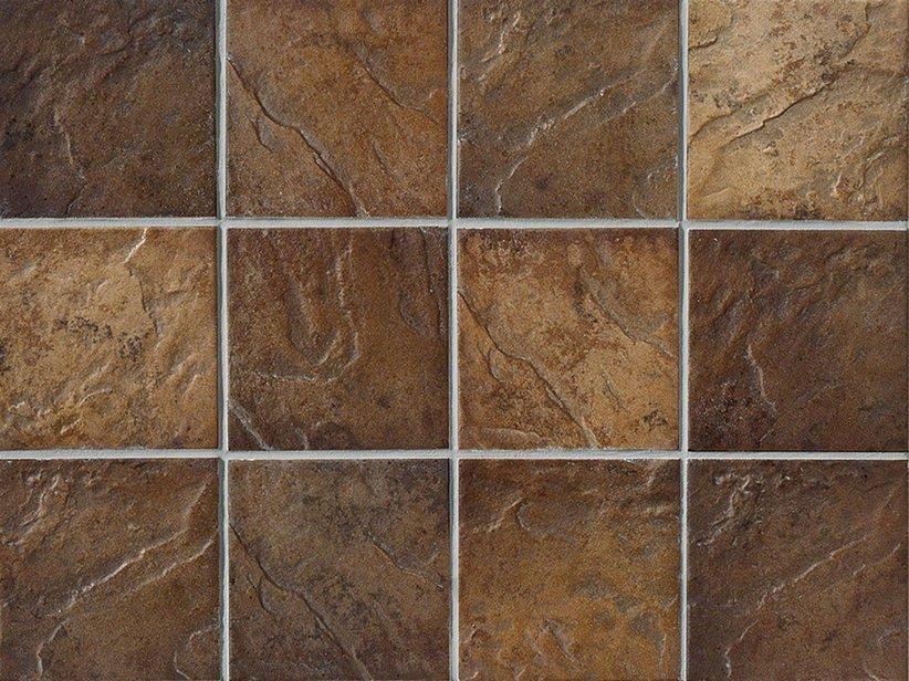 Piastrella capri caff&egrave 10x10 in gres procellanato 1