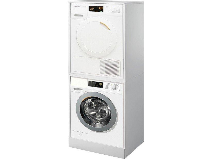 Mobile lavanderia kit double a due livelli 1