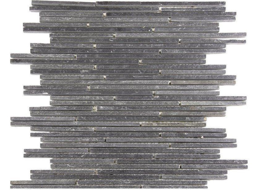 Mosaico pietra naturale calgary black 33x30 nero 1