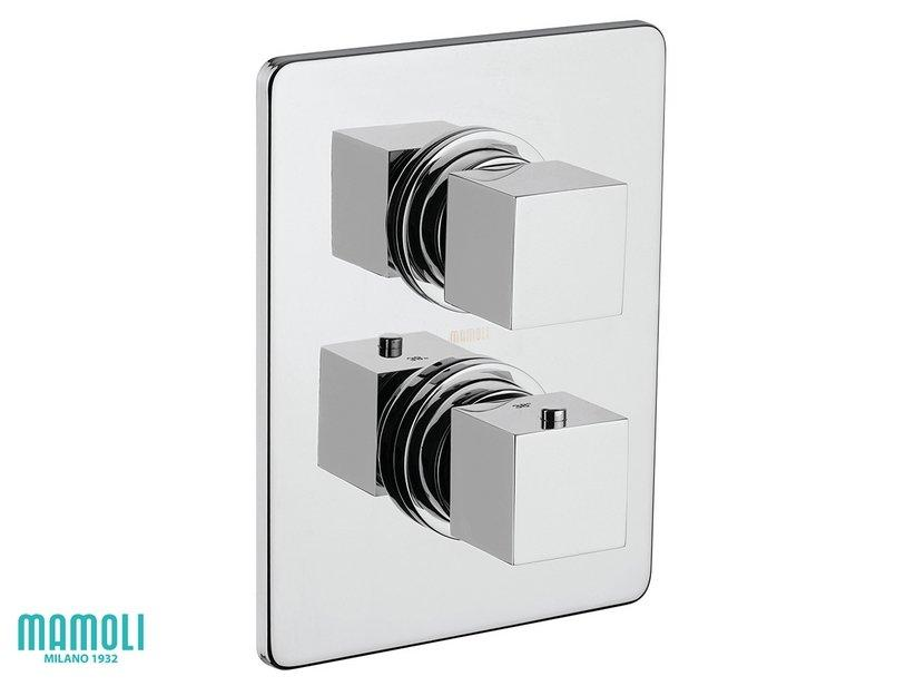 Placca per miscelatore doccia incasso termostatico con 1