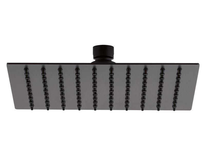Soffione doccia warrior 20x20 acciaio inox quadrato 1