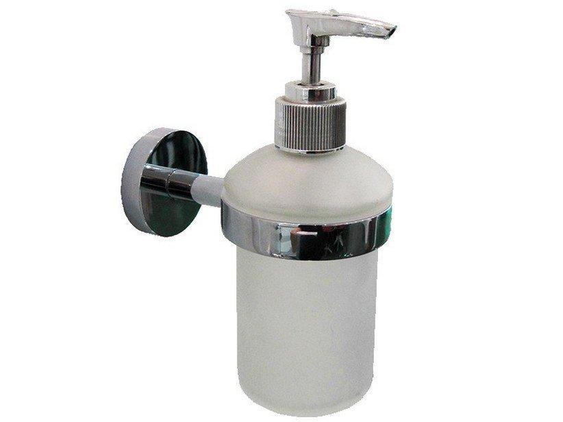 Porta dispenser cornelia a muro cromo 1