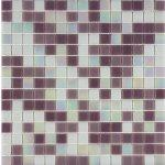 Mosaico vetro mix lilla 32 5x32 5
