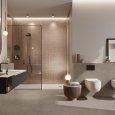 Mosaico vetro con foglia d'oro argento antico