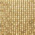 Mosaico vetro foglia d'oro 29 5x29 5