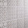 Piastrella batik decoro peltro 10x10 patchwork grigio