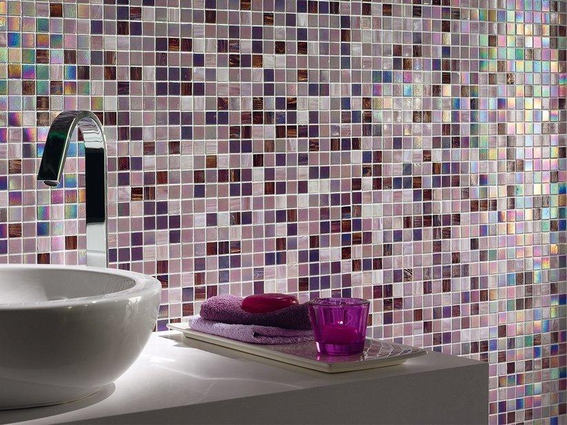Mosaico vetro sweet purple 32 5x32 5 1