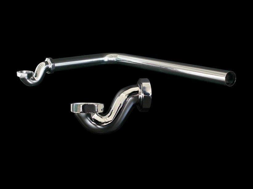 Sifoncino + tubo raccordo per vasche stile 1