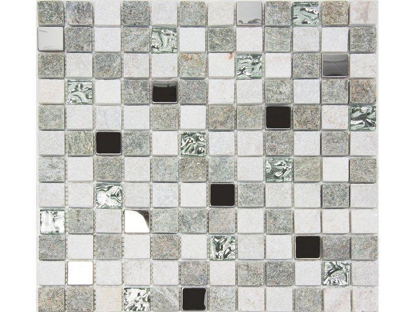 Mosaico pietra naturale st moritz gris 30x30 1