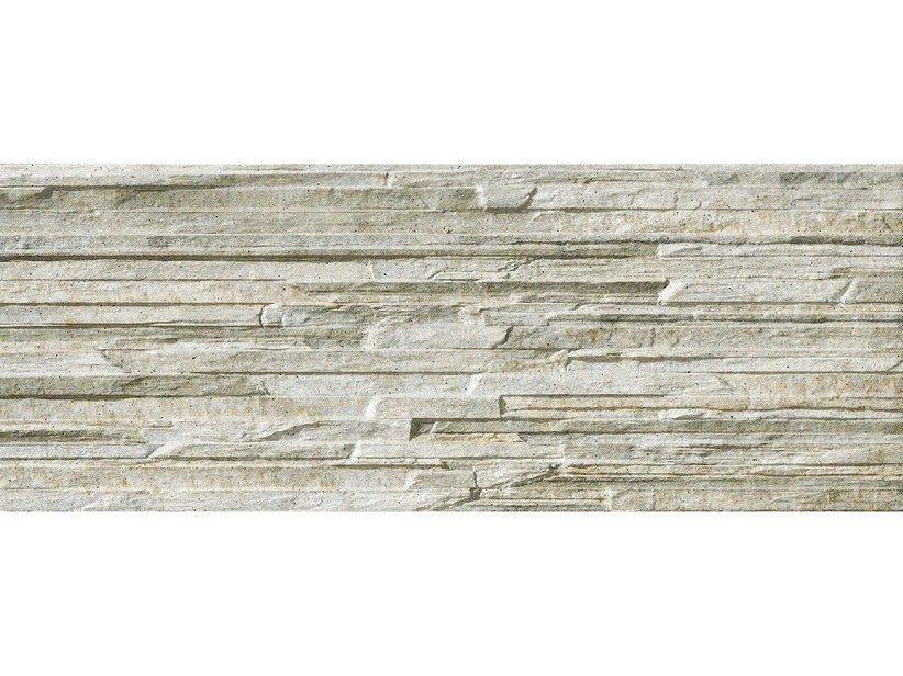 Piastrella cliff grey 16x42 muretto effetto pietra 1