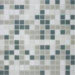 Mosaico vetro m10 mix grey 32 5x32