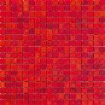 Mosaico vetro rossofuoco 29 5x29 5