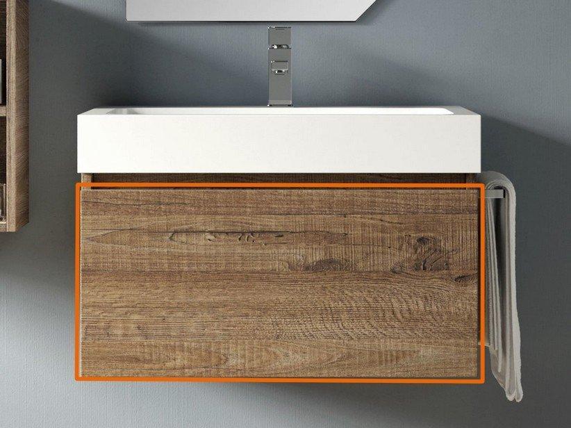 Cassetto bagno qubo 70 cm sherwood 1