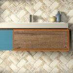 Cassetto bagno qubo 90-120 cm sherwood
