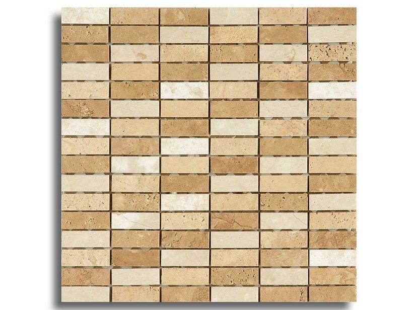 Mosaico marmo mini teseo beige 30 5x30 1
