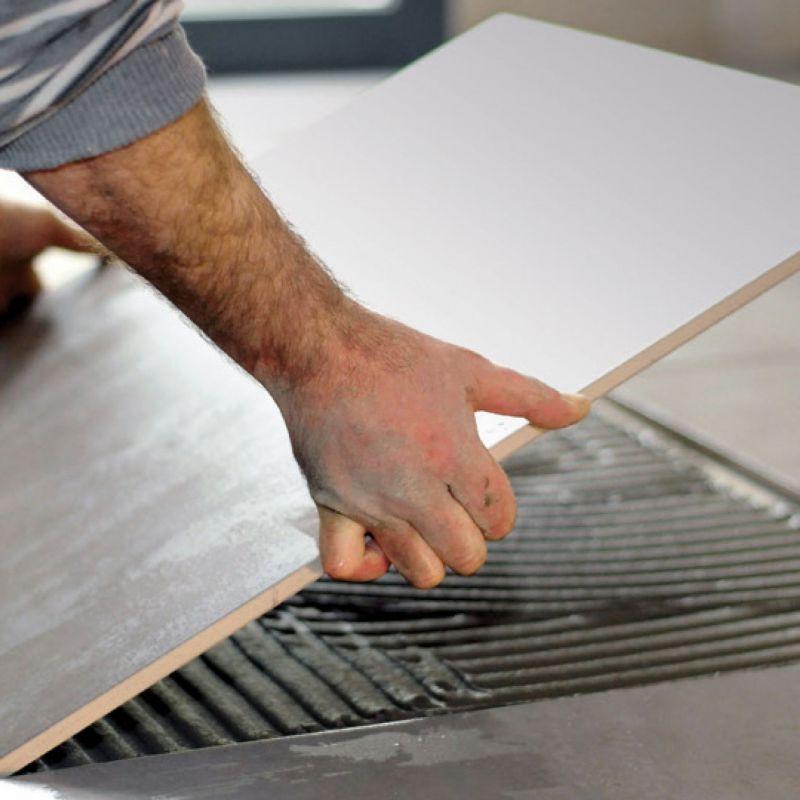 Colla per piastrelle webercol Progres Top S1 Grigia 5 kg 2