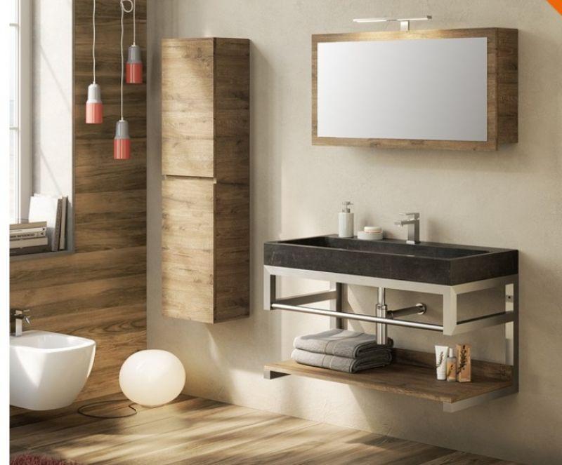 Mobili bagno in metallo Purestone 4