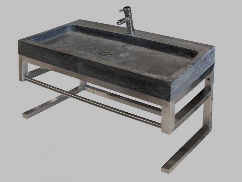 Mobili bagno in metallo Purestone 5