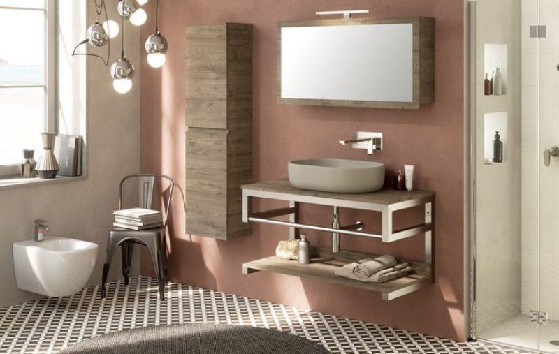Mobili bagno in metallo Purestone 6