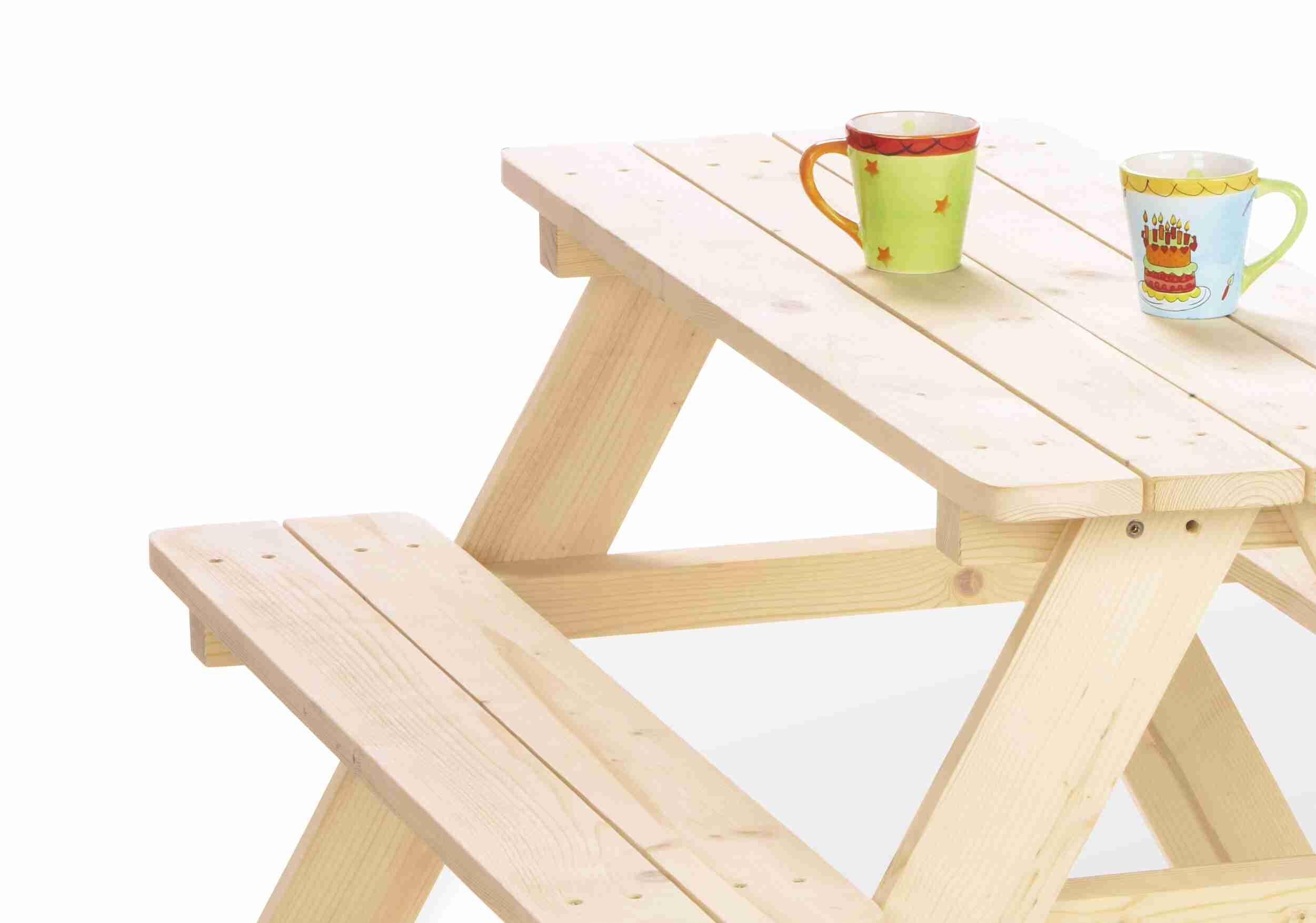 Tavolo per bambini nicki naturale by pinolino 1