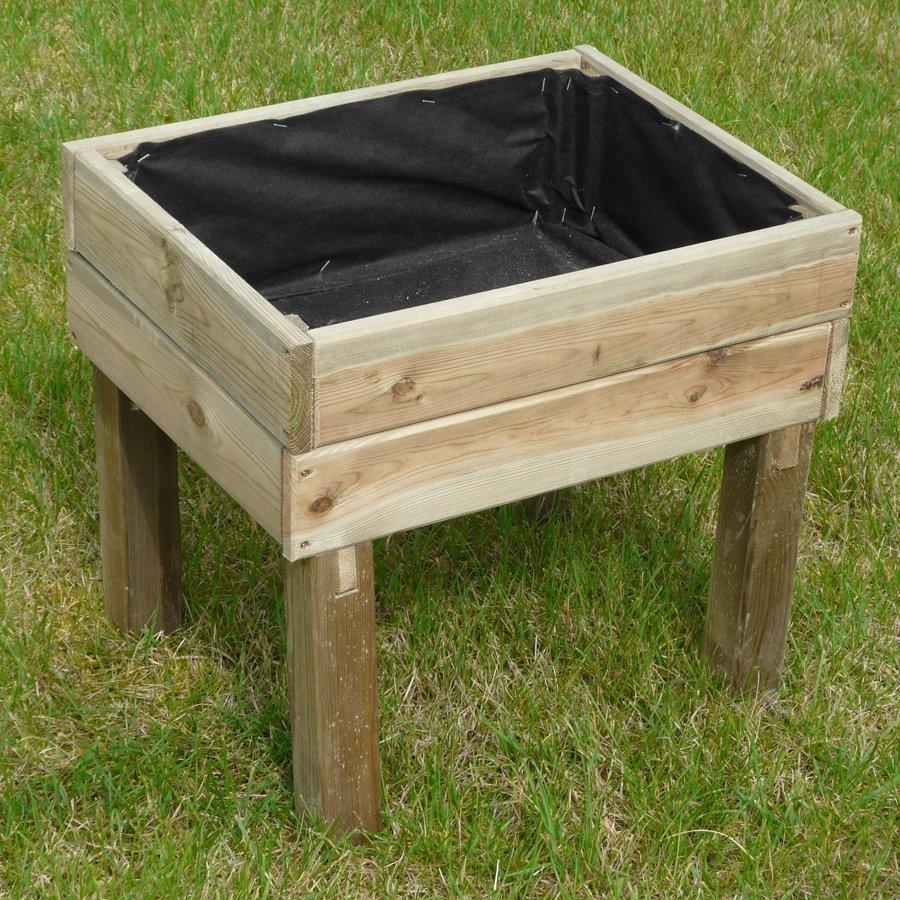 Orto in legno per bambini di pino 1