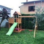 Parco giochi in legno fungoo floppi 379