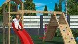 Thumbnail Parco giochi in legno di pino fungoo - 2918344 1