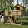 Parco giochi in legno di pino fungoo - 2918358