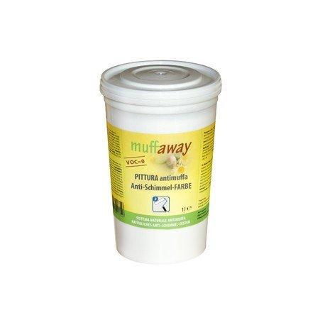 Pittura di calce antimuffa muffaway 1 l 1