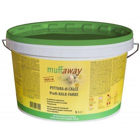 Pittura di calce antimuffa naturale muffaway 5 1