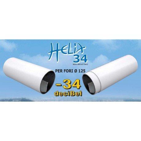 Riduttore acustico helix 34 per fori di 1