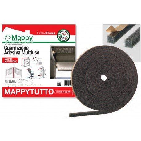 Guarnizione adesiva multiuso mappytutto spess 17 mm 1