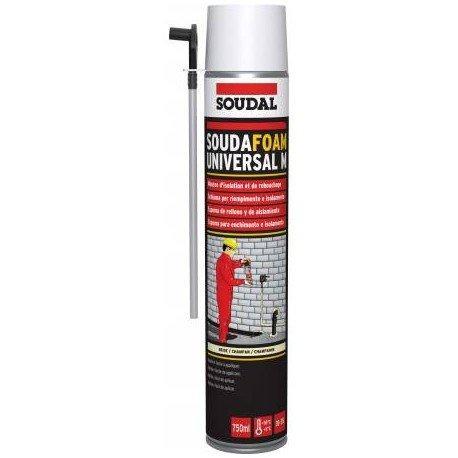 Schiuma poliuretanica professionale manuale soudal 1