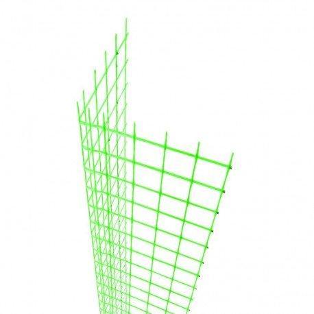 Rinforzo d'angolo per rete fibrenet in frp 1