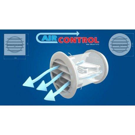 Griglia di ventilazione con valvola termostatica aircontrol 1