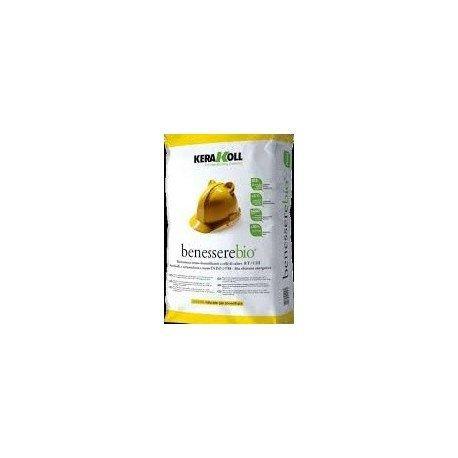 Intonaco termodeumidificante kerakoll benessere bio sacco da 1