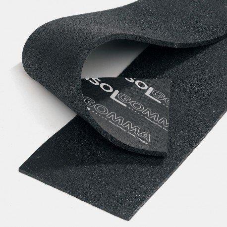 Isolante acustico sottoparete in strisce rotolo da 1