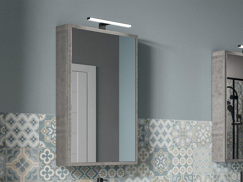 Specchio bagno qubo contenitore 50x85 p14 verticale 1