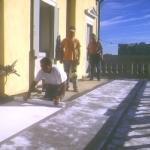 Lavori di ripristino terrazzo a Roma