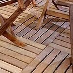 Pavimentazione in legno da esterno
