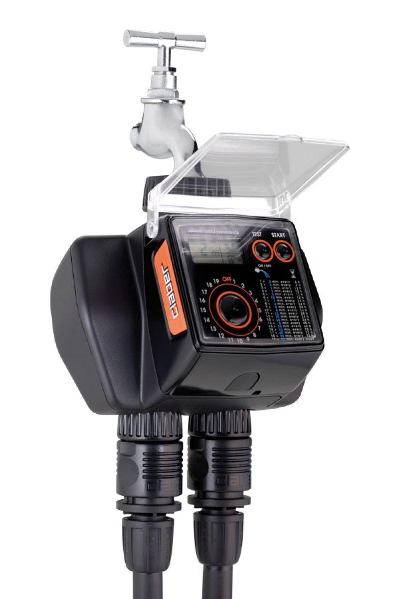 Programmatore per irrigazione Aquadue Duplo Claber 6