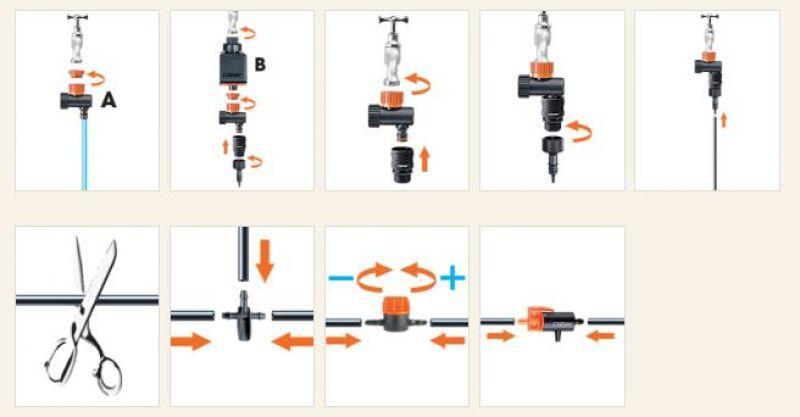 Kit Drip 20 vasi Claber 2