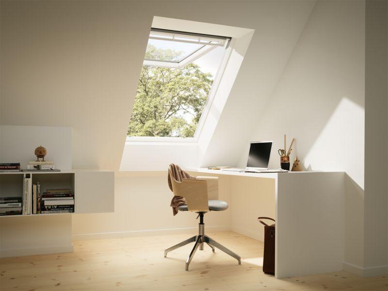 Finestra per tetti VELUX a doppia apertura manuale 2